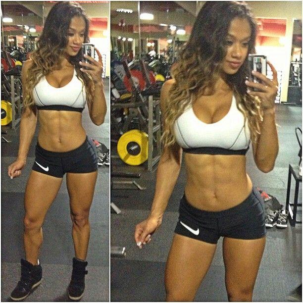 Female Form #StrongIsBeautiful #Motivation #WomenLift2 Lais De Leon