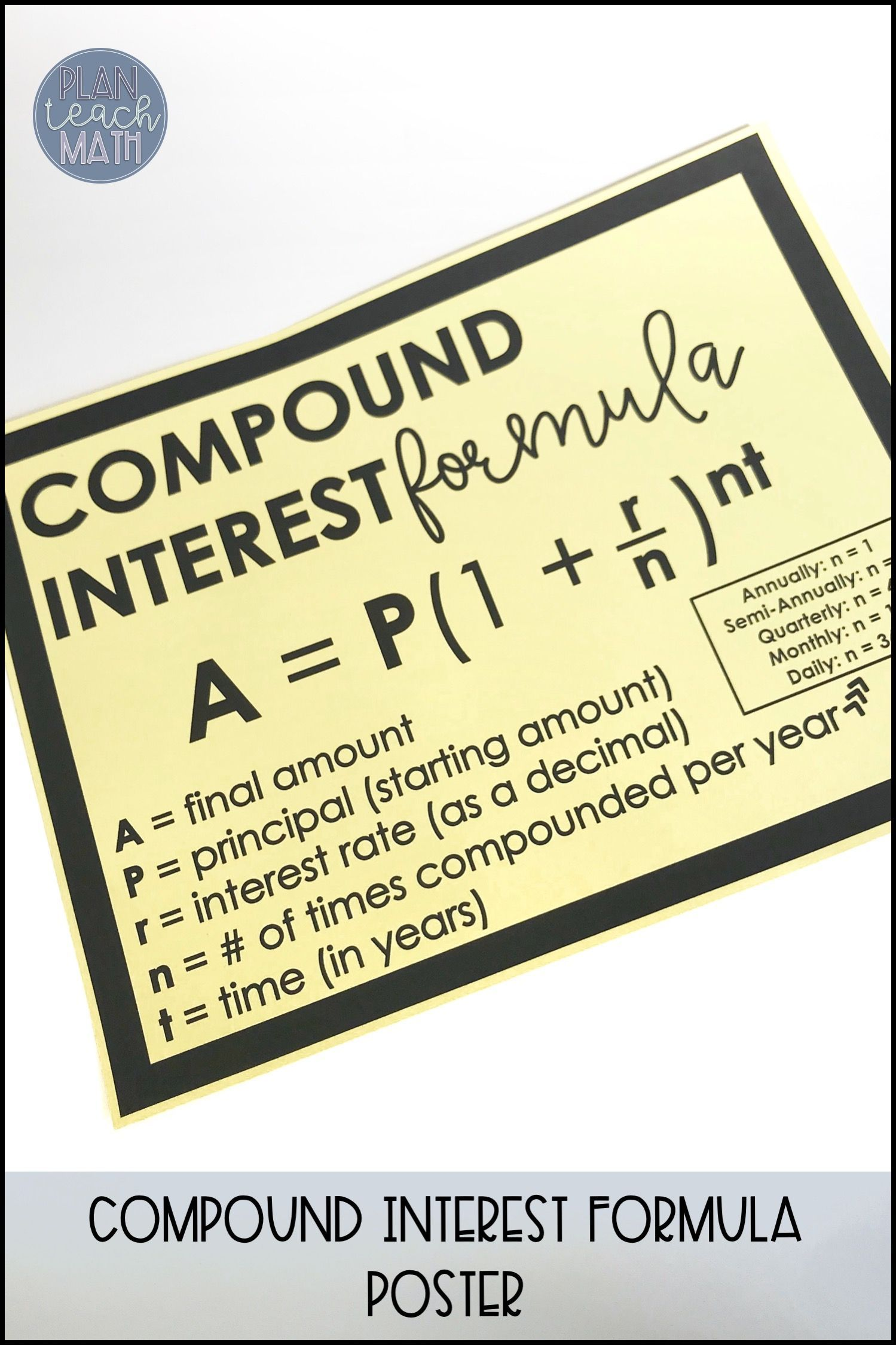 How To Calculate Compound Interest Using Formula