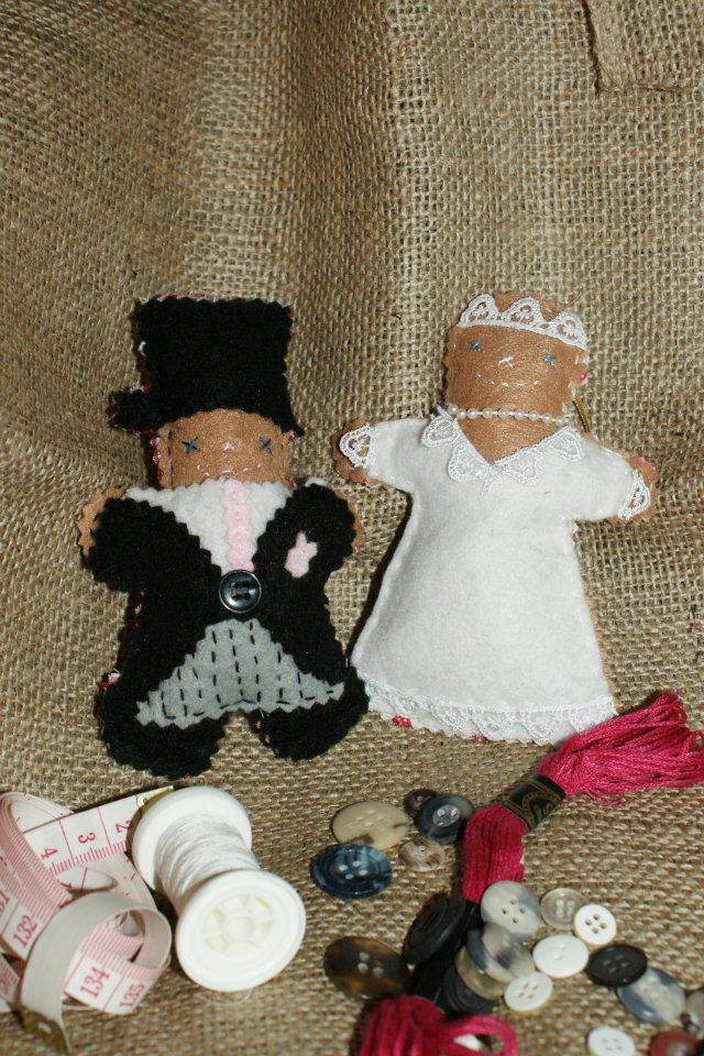 The cutest creations for the bride and groom.