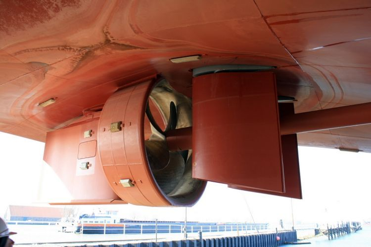Imperial Shipping chooses Van der Velden Marine Systems retractable flanking rudder systems for its push boats