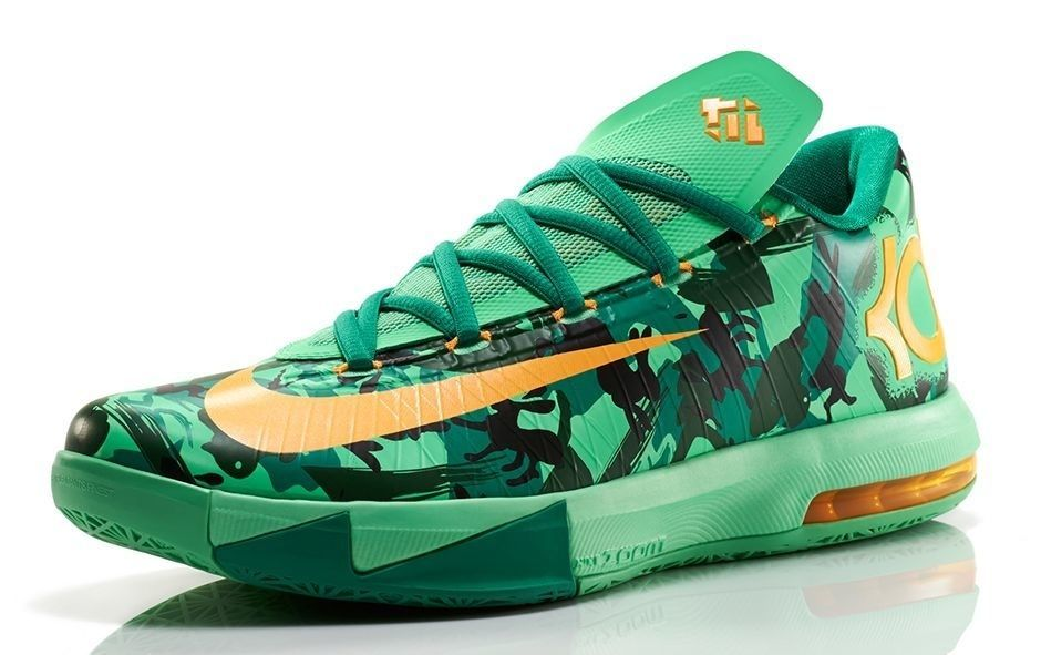 online store b2763 b4ae9 Nike KD Easter VI Size 9 Camo Lucid Green Bunny In hand ...