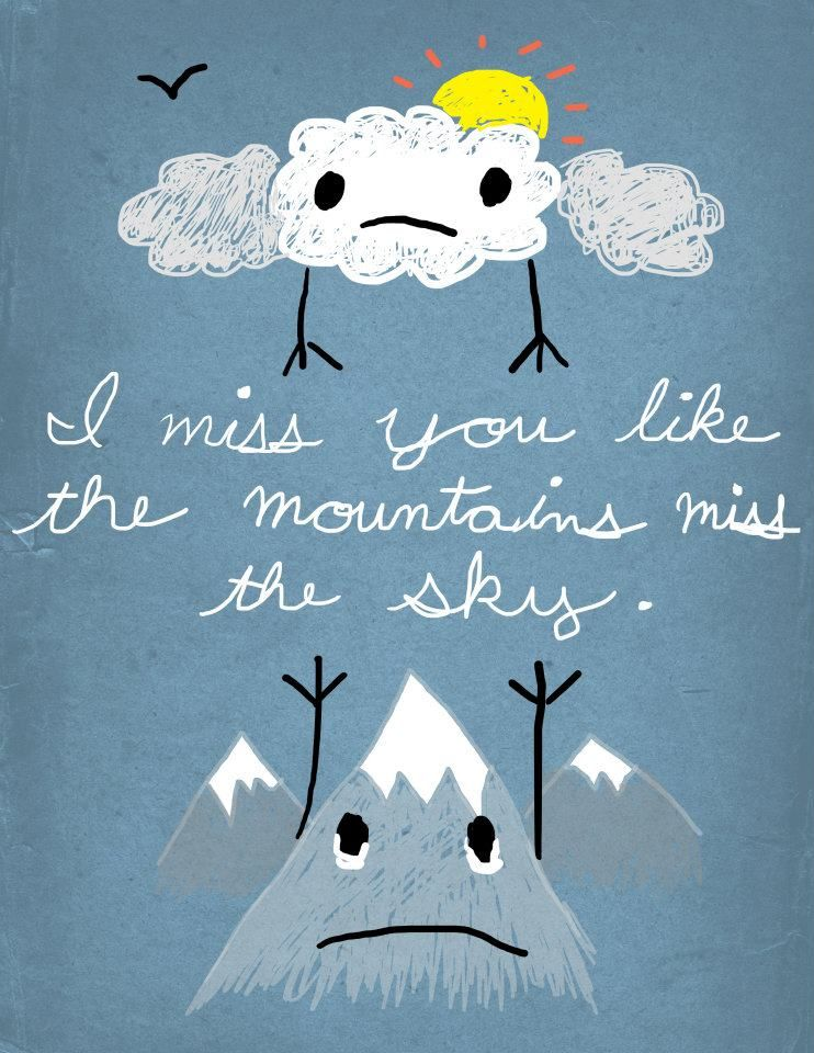 such a cute illustration  makes me miss my boyfriend  oh
