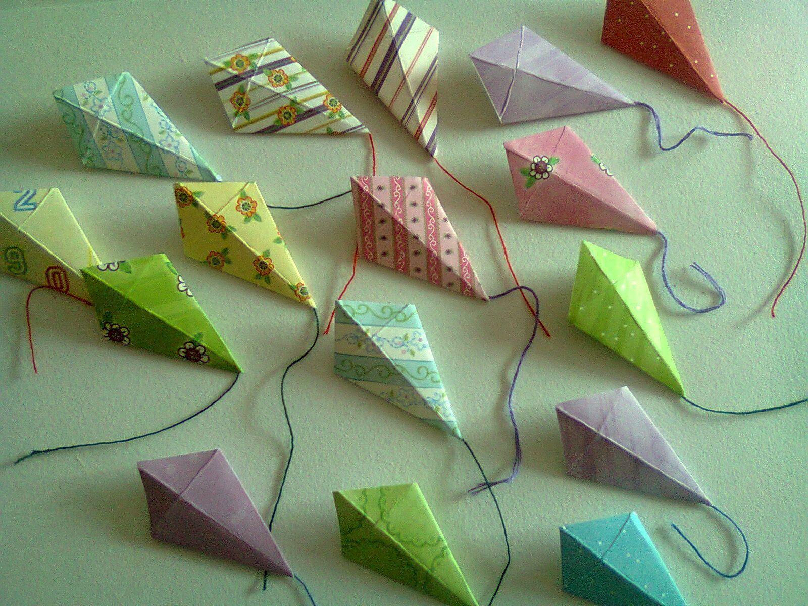 origami kite | Kites | Pinterest | Kites, Origami and 3D Origami