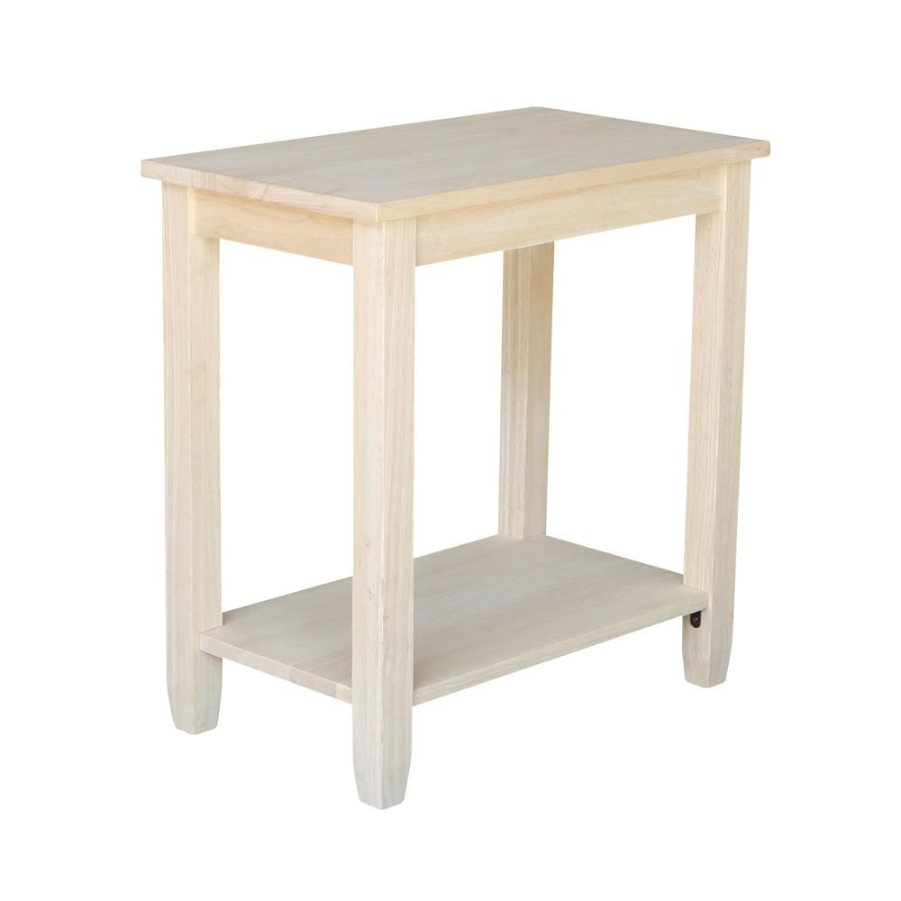 International Concepts Solano Unfinished Console Table