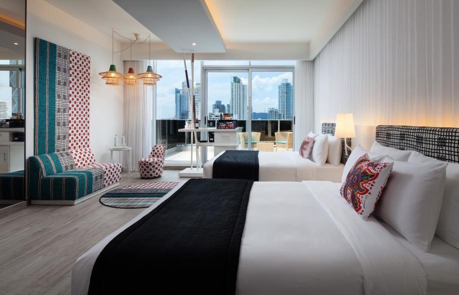W Bangkok Wonderful Room Luxury Rooms Bangkok Hotel Room