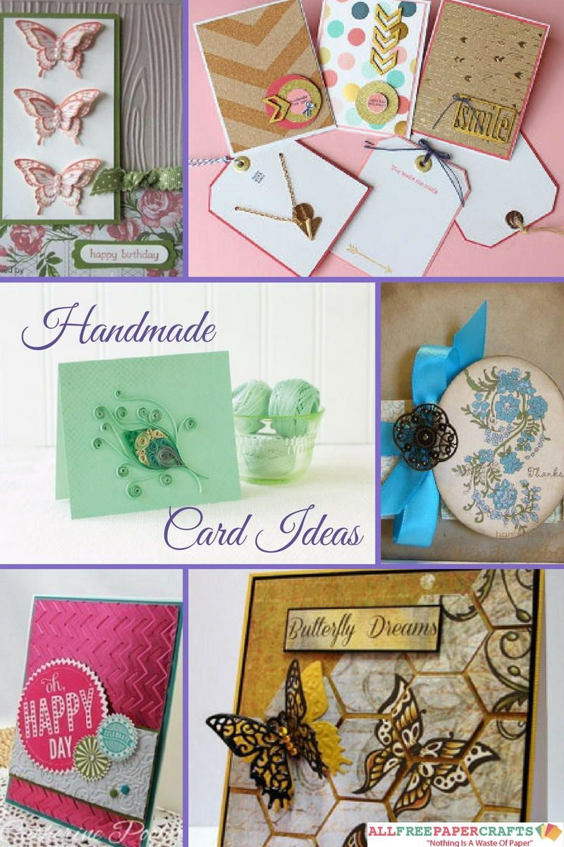 45+ handmade card ideas: how to make greeting cards | best paper