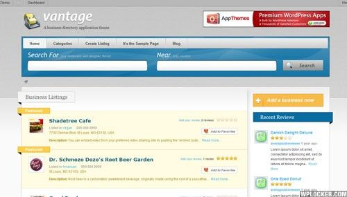 Download vantage v112 child appthemes wordpress theme theme vantage is the most popular business directory theme for wordpress flashek Images