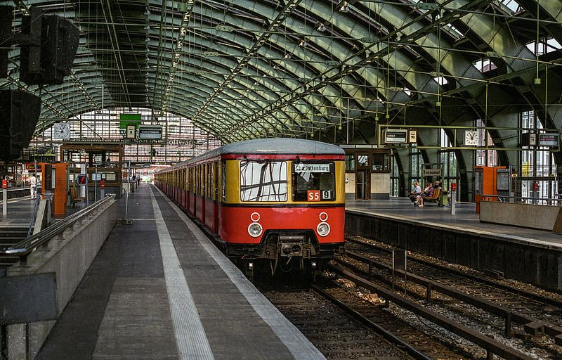 Old Berlin Hauptbahnhof Berlin Olds Train