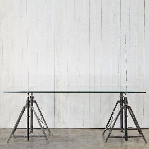 Scaffolding Stand Desk Ralph Lauren Home Ralphlaurenhome Com Use Ikea Metal Legs And