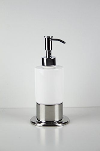 Inox Countertop Soap Dispenser Polished Stainless Steel Table
