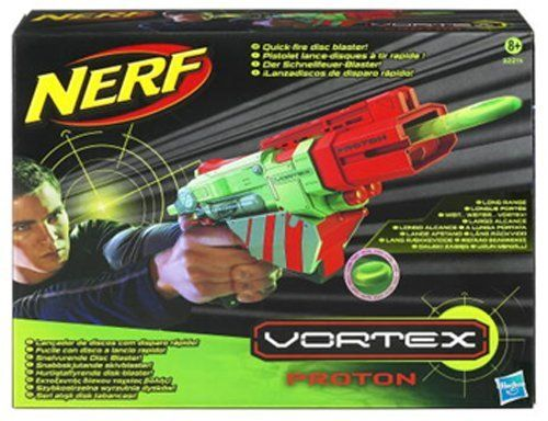 Vortex  Proton by Nerf, http://www.amazon.com/dp/B004SKYULI/ref=cm_sw_r_pi_dp_EdCxqb1GF59QH