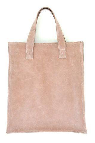 Simple leather bag. MINIMO