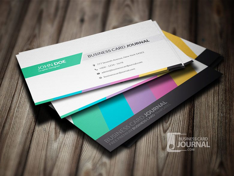 Download httpbusinesscardjournalclean creative multicolor creative blue business card by businesscardjournal wajeb Choice Image