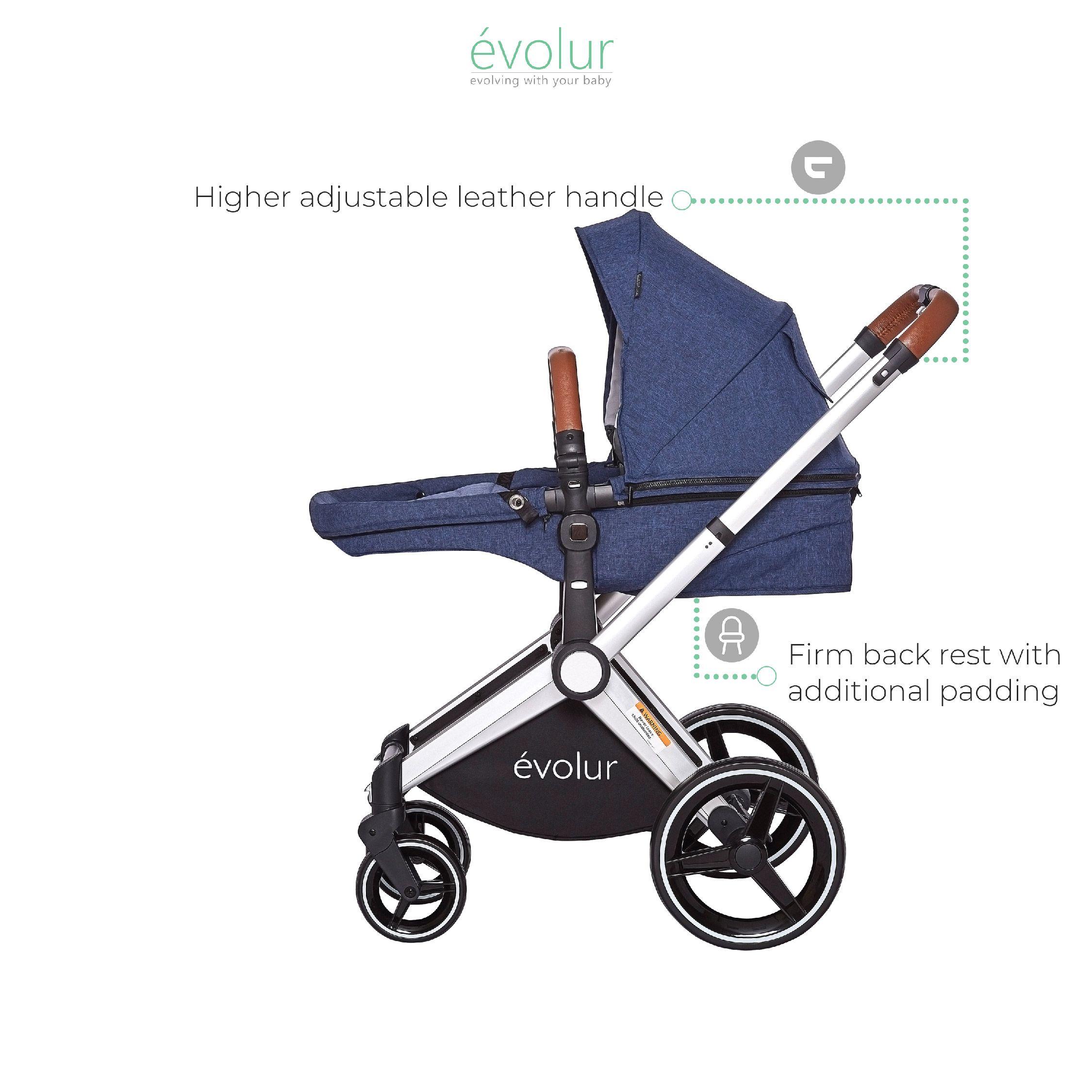 Nova Reversible Seat Stroller | Stroller, Modern family ...