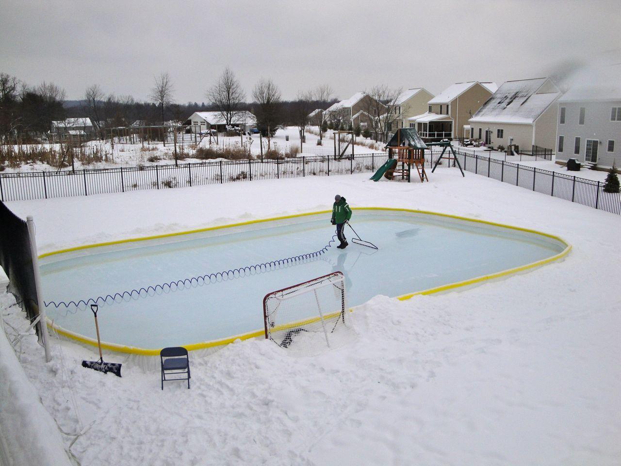 52 Niceice Resurfacer Backyard Ice Rink Backyard Hockey Rink Backyard Rink Backyard skating rink kit canada