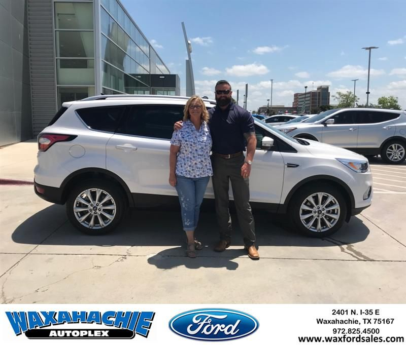 Happy Anniversary To Sheri On Your Ford Escape From Justin Bowers At Waxahachie Ford Anniversary Waxahachieford Waxahachie