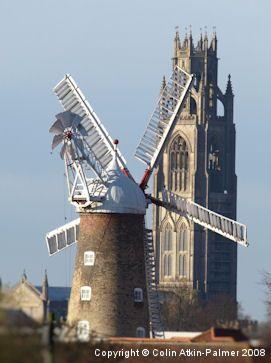 Maud Foster Windmill, Boston, Lincs