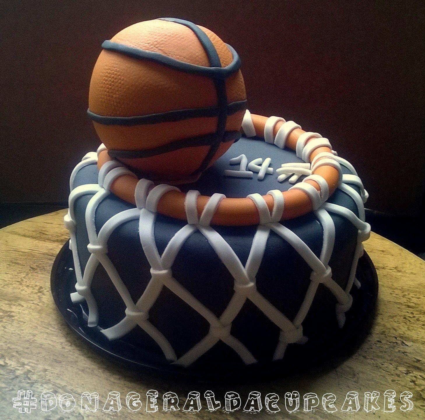 Bolo basquete #BASQUETCAKE