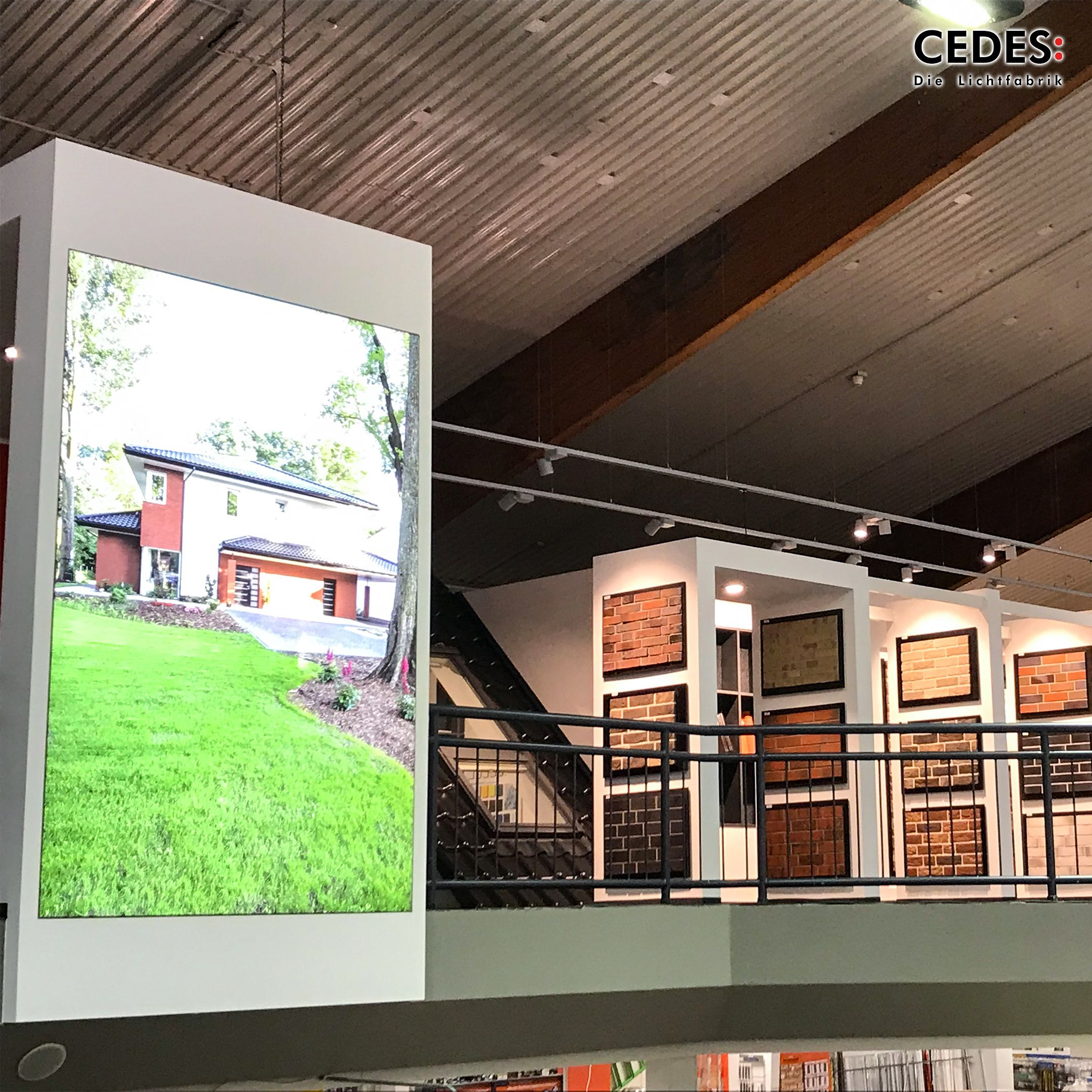 How Customers Know Where To Go Smart Led Light Frames Provide Guidance Innenarchitektur Beleuchtung Lichtplanung