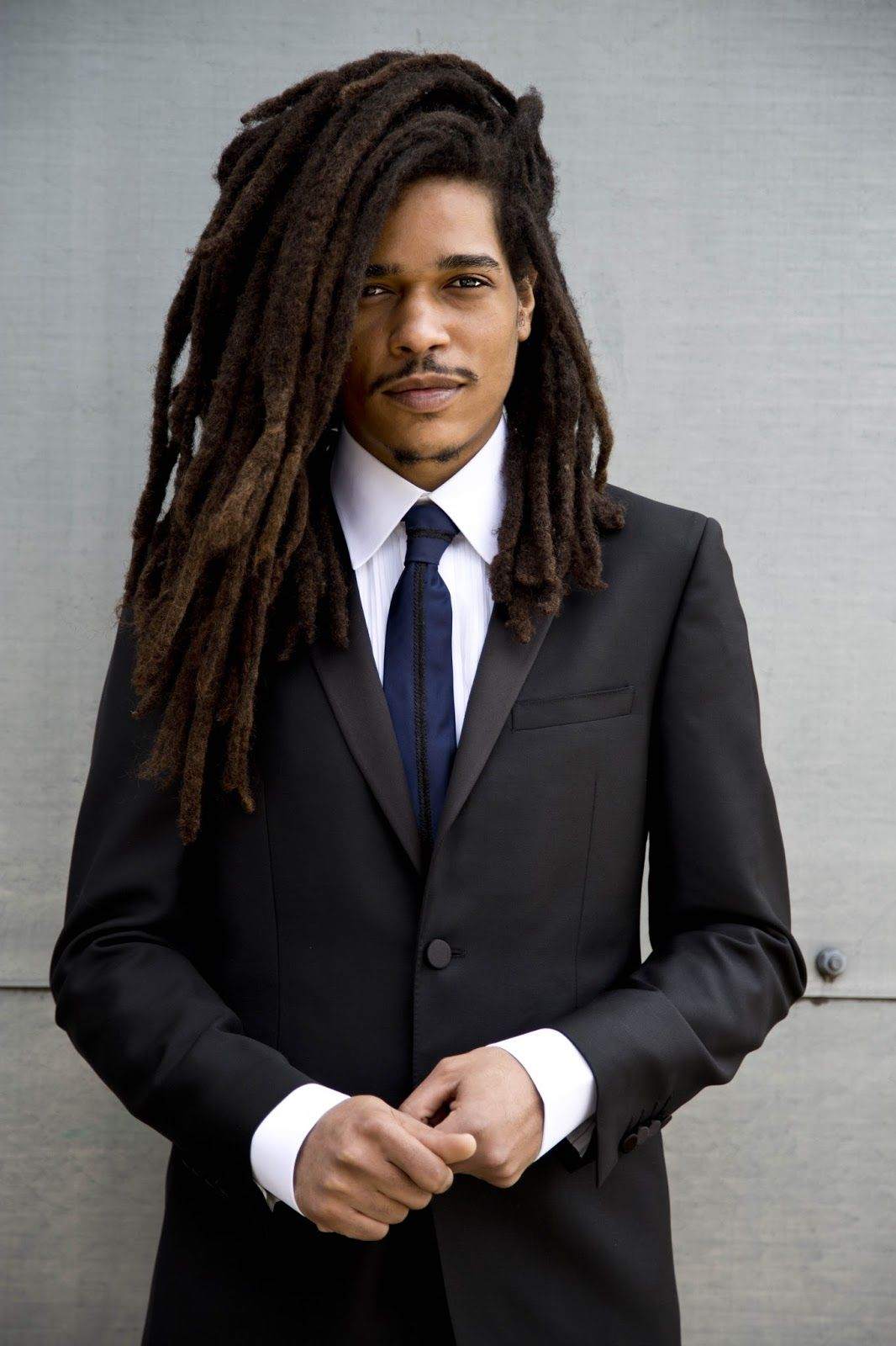 Loced gentleman i just love a man with locs in a suit