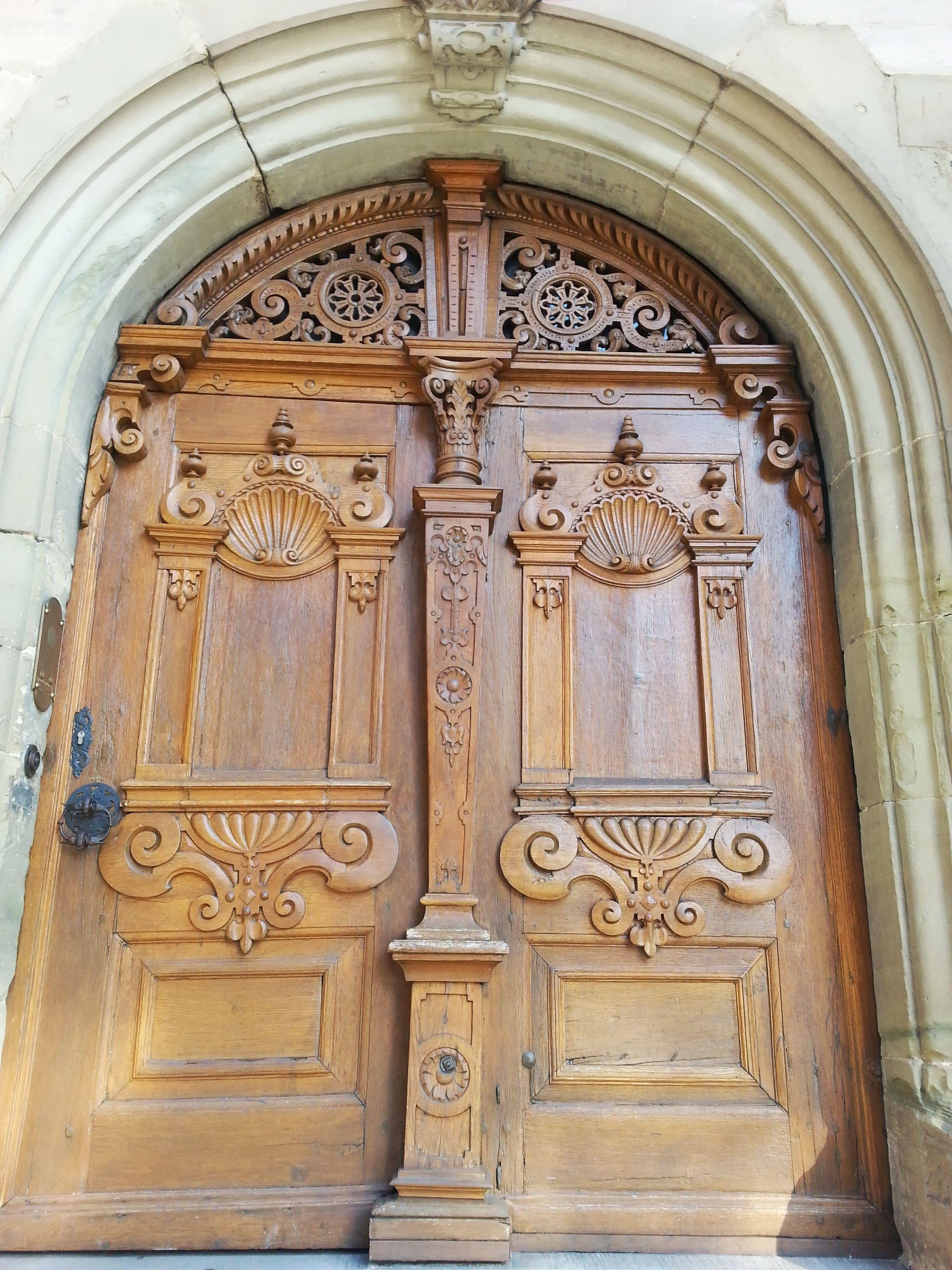 Esslingen doorway on one of the back streets