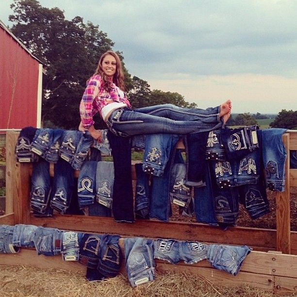 There's no such thing as too many jeans - @bucklestore on Instagram