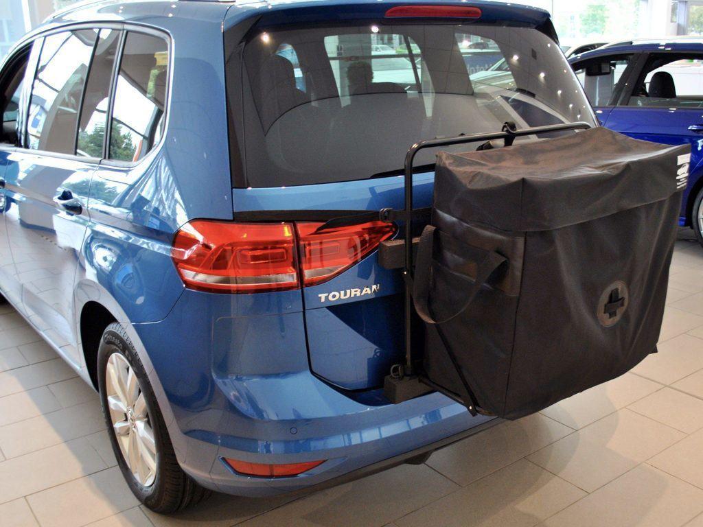VW Touran Roof Box Unique No Clamps No Bars No Brackets