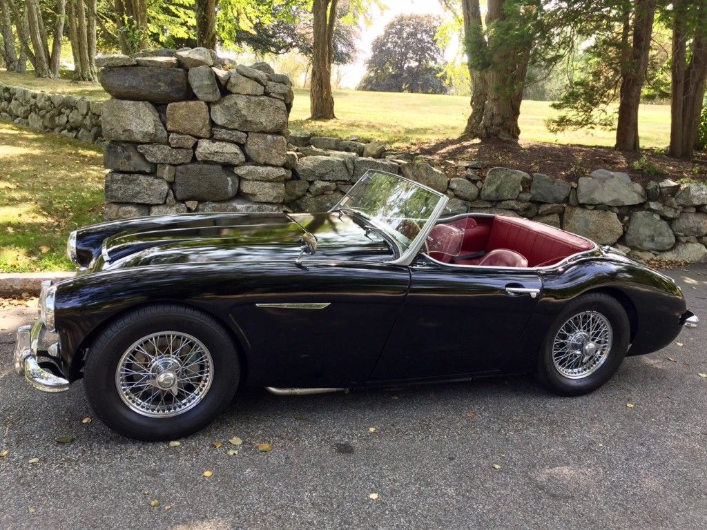 1957 Austin Healey 100 6 Bn4 Roadster Classic Cars Classic Car