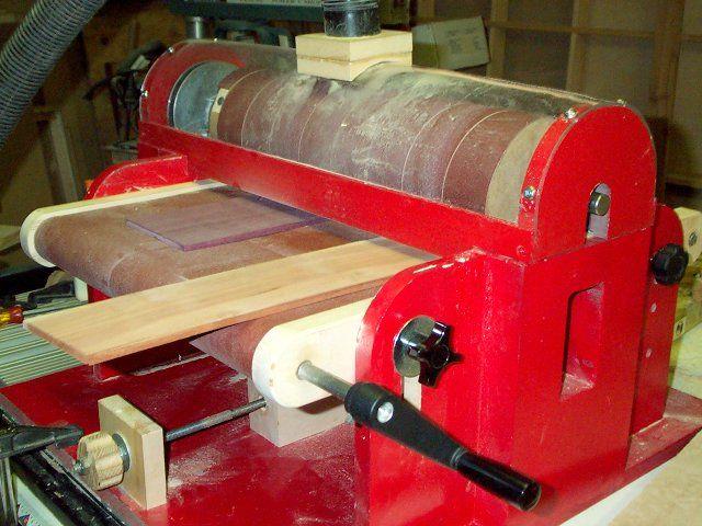 shop built drum sander plans | Shop-Built Thickness Sander - Page 3 - Telecaster Guitar Forum