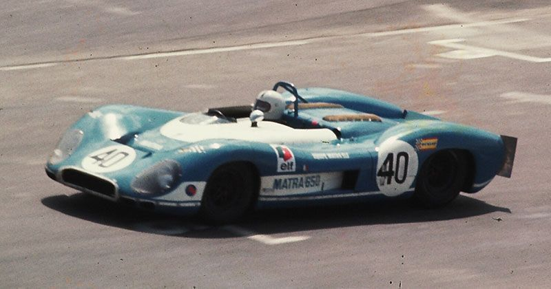WATKINS GLEN 6 CANAM 1969 - The 3.0 Matra-Simca MS630/650 V12 with chassis MS630-02 was brought home as 10th by Pedro Rodriguez. PICTURE: Racing Sports Cars Archive.