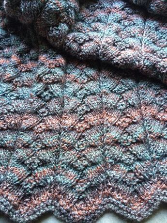 Beautiful Knitted Throw Pattern Free Knitting Pinterest