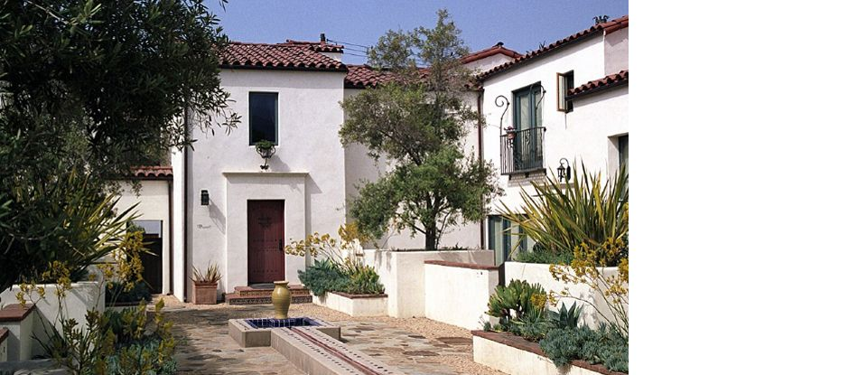 Santa barbara spanish architecture spanish home for Santa barbara style house