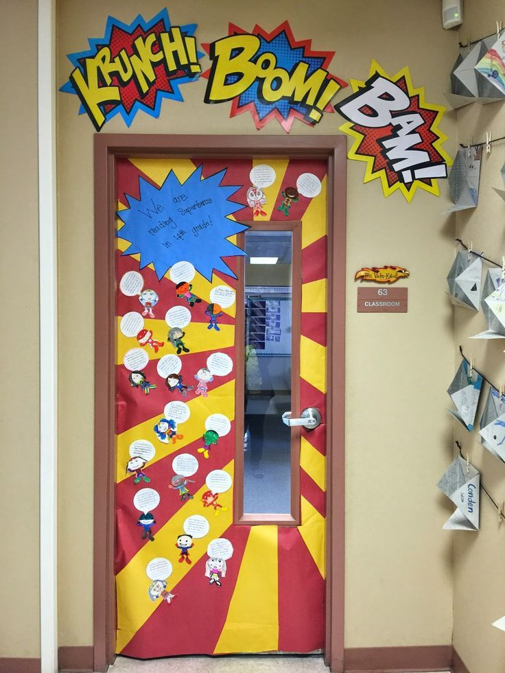 Classroom Decor Items ~ Image result for superhero classroom door decoration