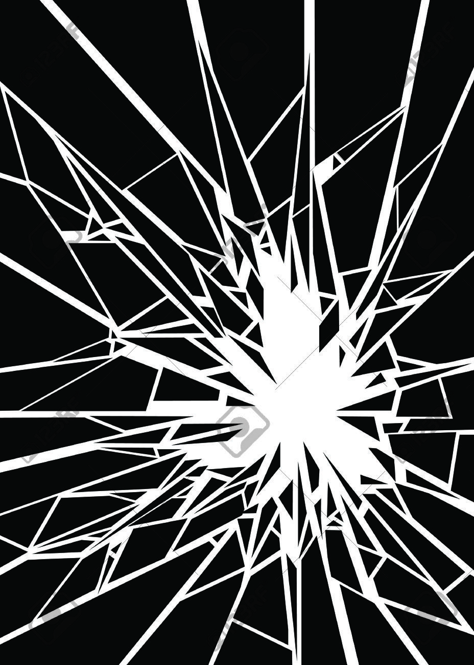 Shattered Glass Stock Vector Illustration And Royalty Free