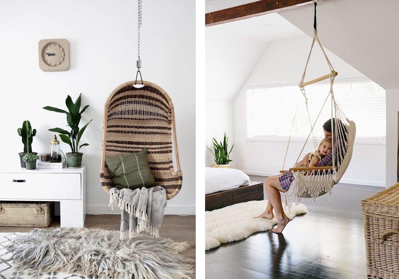 Indoor Hanging Chair Ideas