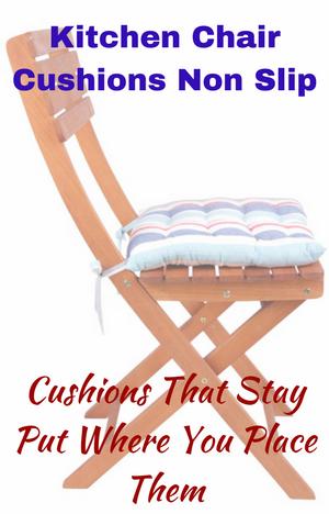 kitchen chair cushions non slip kitchen chair cushions pinterest rh pinterest com Thin Kitchen Chair Cushion Southwestern Kitchen Chair Cushions Non-Slip