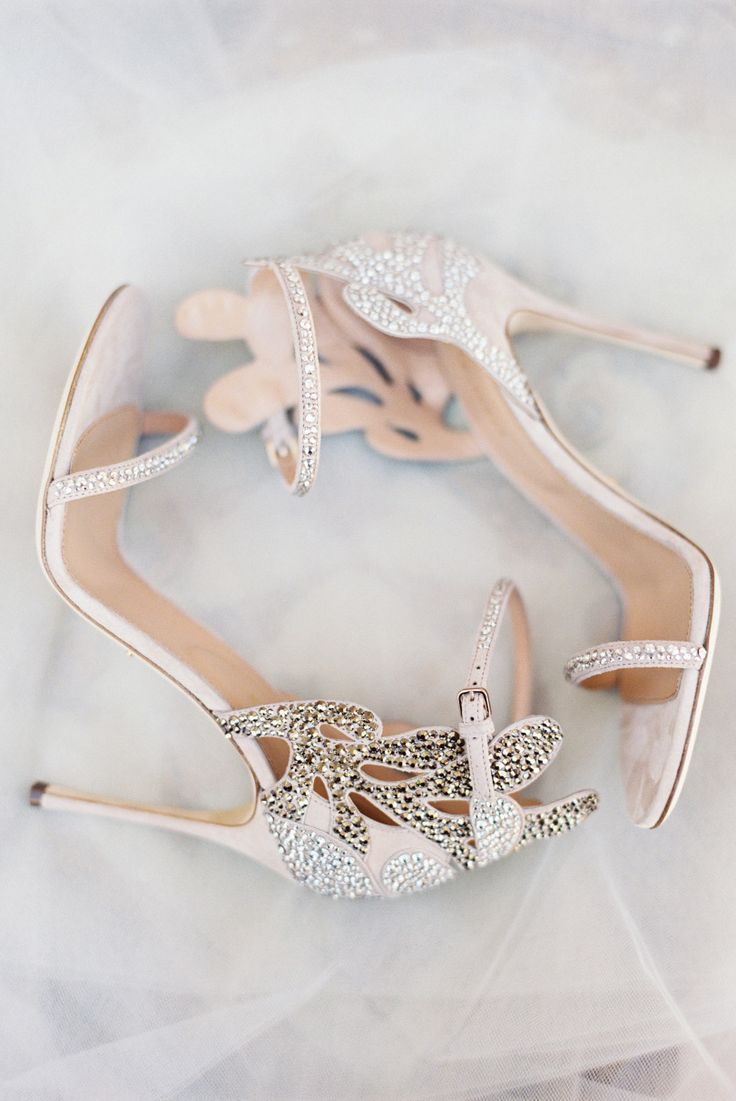 Wedding shoes and Silver heels