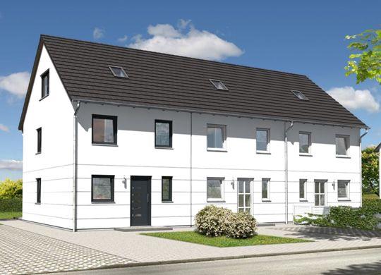 Reihenhaus Mainz 128 Elegance Haus bauen, Haus, Reihenhaus