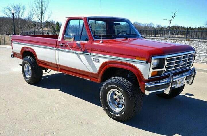 Seriously I Really Appreciate This Finish Color For This 1981 F150 1981f150 Classic Ford Trucks Ford Pickup Trucks Ford Trucks