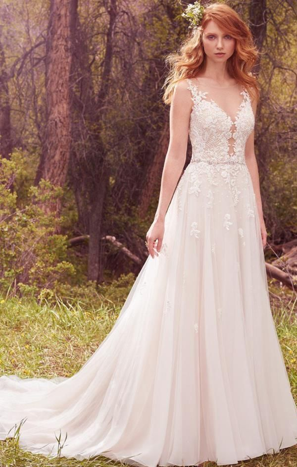 Avery wedding dress by Maggie Sottero. The Bride Guide; Styling your ...
