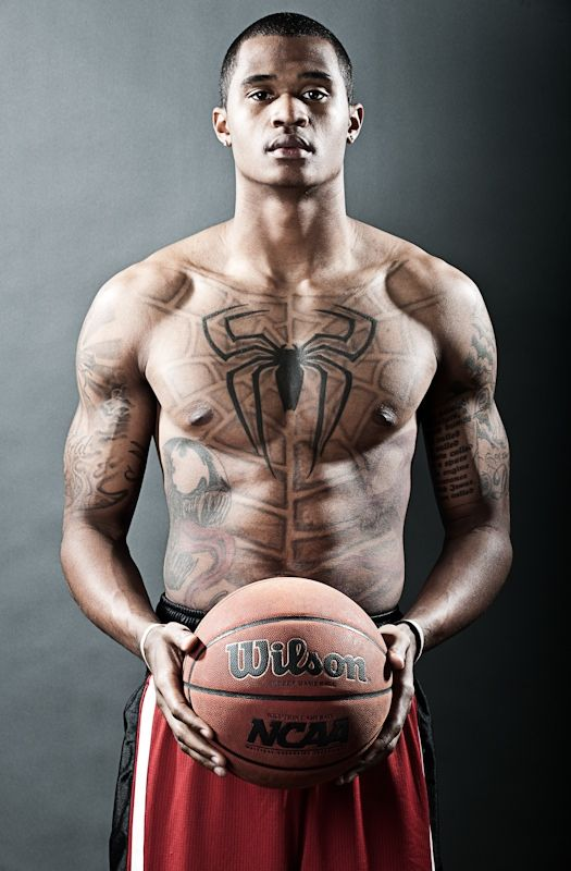 Uc Irvine Player S Ridiculous Tattoo Spiderman Tattoo Spider Tattoo Spiderman Chest Tattoo