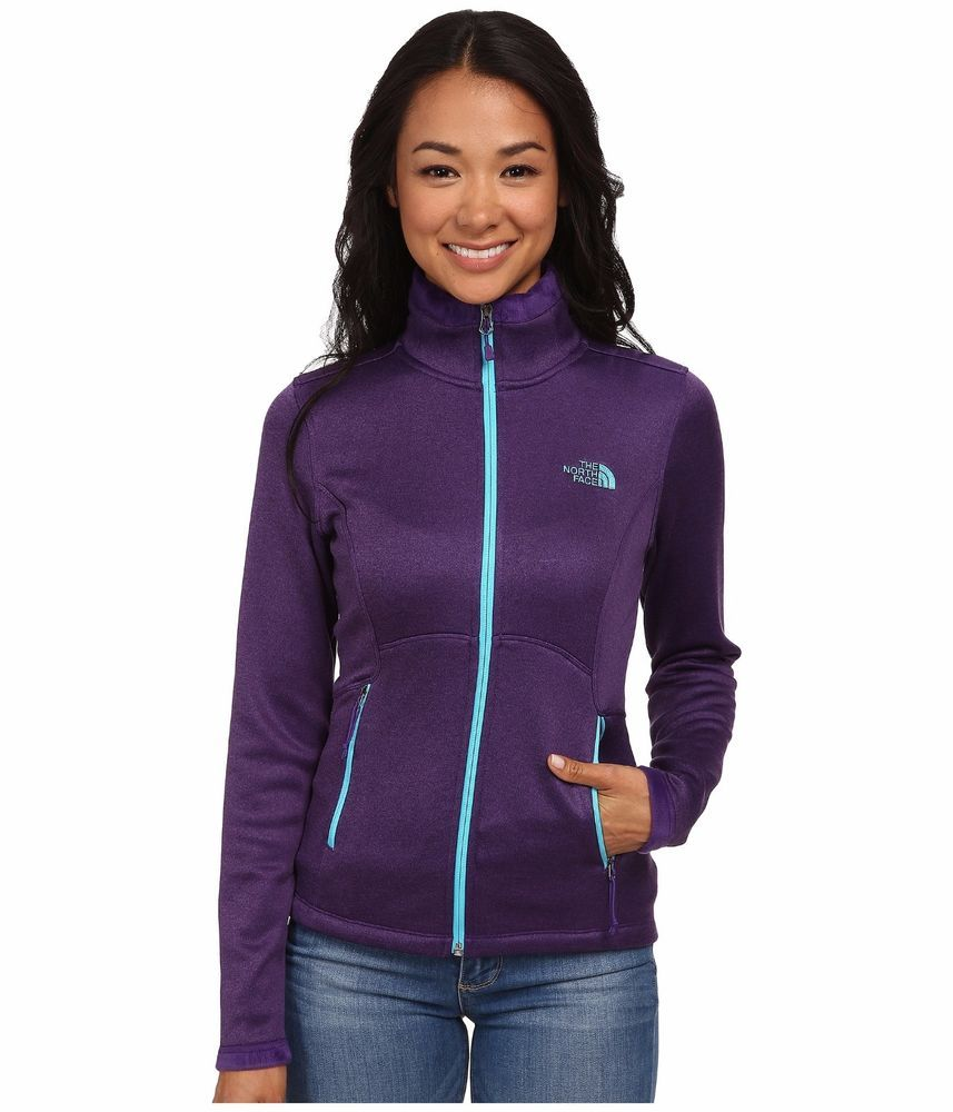 NEW Women's The North Face Agave Zip Buttery Soft Fleece Jacket ...