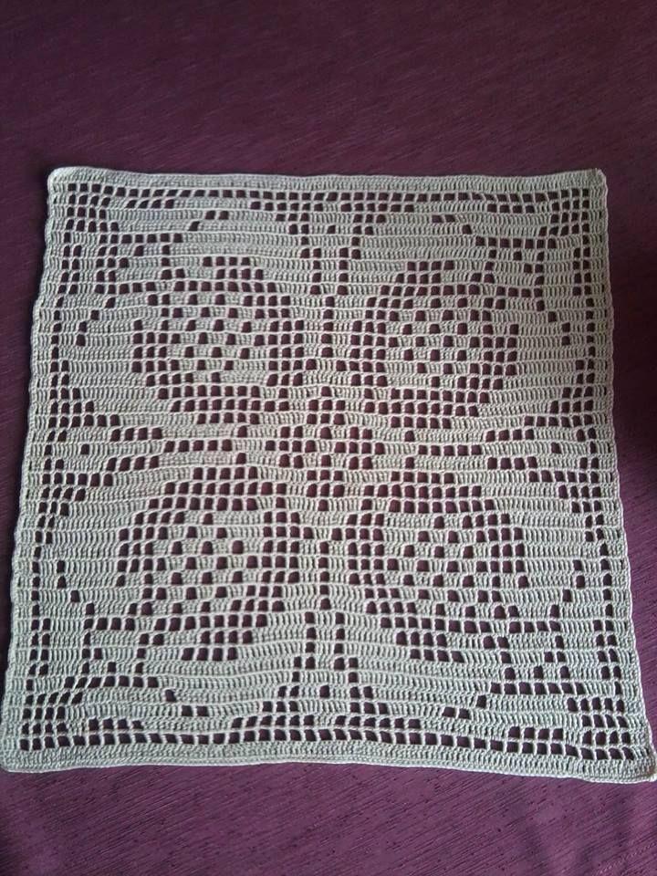 Serweta Com Imagens Tapete De Croche Cobertores De Croche