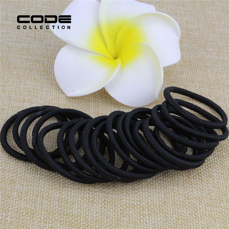 18pcs/lot elastic girl black hair bands kids hair accessories baby haar acessorios para cabelo para el pelo women hairband D005