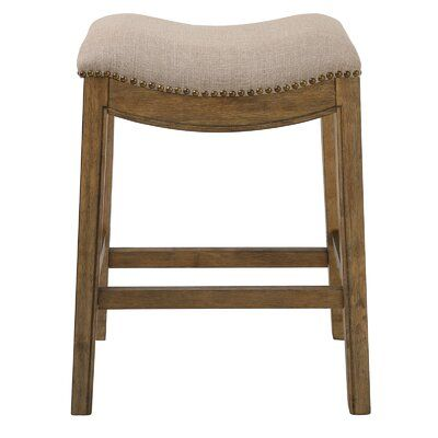 Charlton Home Montserrat Saddle Style Counter Height 25 Bar Stool Stool Swivel Bar Stools Counter Height Stools