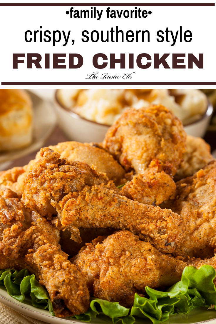Southern Fried Chicken Recipe Fried Chicken Recipe Easy Easy Fried Chicken Fried Chicken Recipes