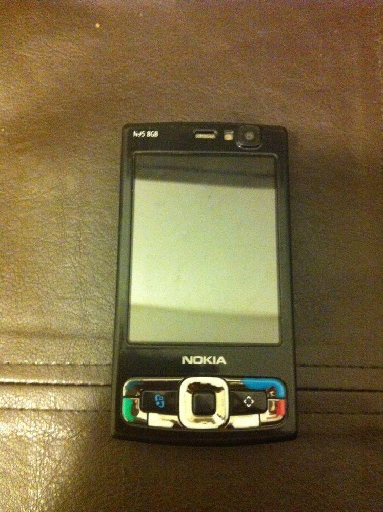 used nokia n95 8gb smartphone black mobile phone include bundle rh pinterest com Nokia N93 Nokia N93