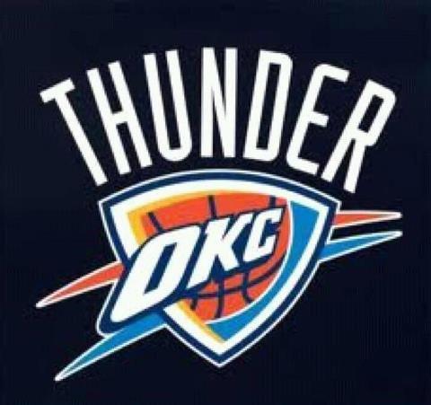 Okc Thunder Oklahoma City Thunder Logo Oklahoma City Thunder