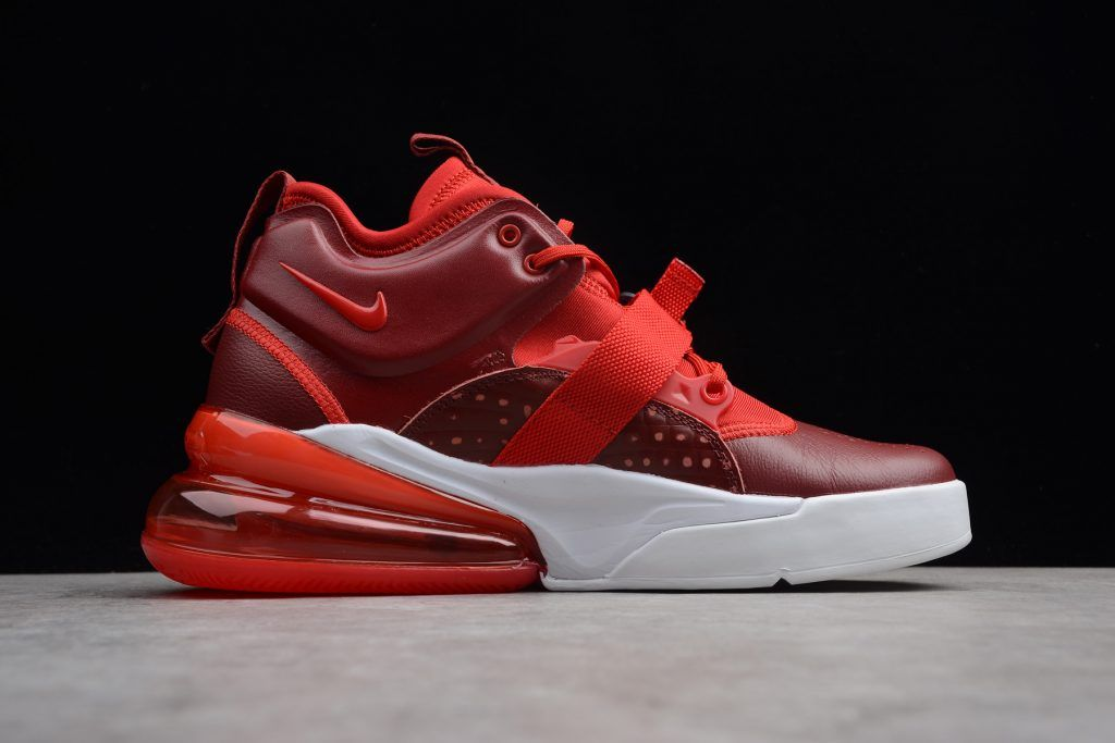 new product 2dc26 d5aca New Nike Air Force 270 Red Croc Team Red Gym Red White AH6772-600-1. Find  this Pin and more on MENS SHOES ...