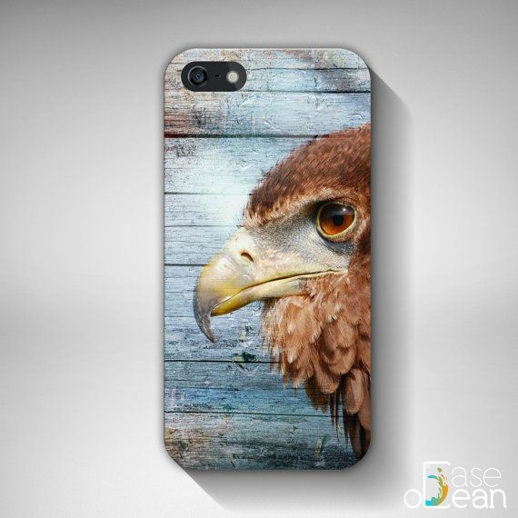 Colored Wood Vintage Hawk Bird iPhone 6, iPhone 6Plus, iPhone 5s, 5, 4, 4s case cover, iPhone 3d wrap, not real wood, 3d printed phone case // High quality glossy color full wrap phone case for iPhone and Samsung Galaxy phones! // €15.99 EUR // Worldwide shipping!